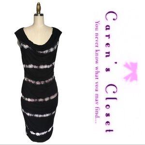 INC Tye Dye Stretch Cotton Embellished Mini Dress